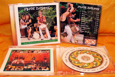 Djembe Trommel CD Pure Drums