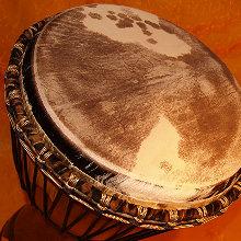 Mama Africa Detail, Premium Trommel von Djembé Art