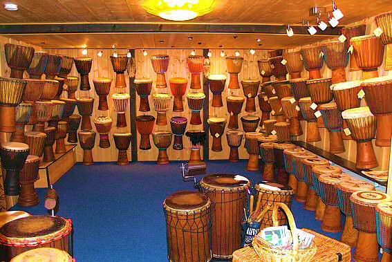 Djembe Art Shop, Display Room