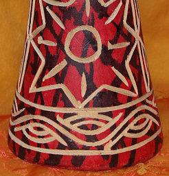 Djembe Drum Basic Class Painting