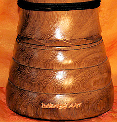 Djembe Drum Middle Class outside finish