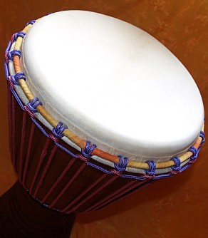 Drumhead High precision on quality Djembe Drum