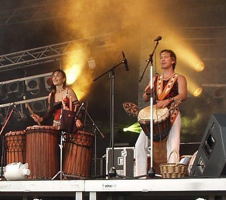 Djembe Art, fine African Drums, Martina & Gavin Grosvenor