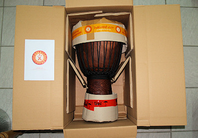 Djembe Art Shipping Safety Packing
